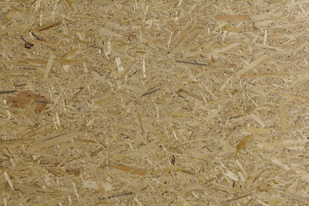 oriented: Pressed wooden panel background seamless texture of oriented strand board - OSB
