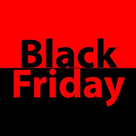 Black friday sale vector banner with explode Illustration
