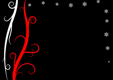 be lost: Christmas background designed in Illustrator vector format. Can be scaled to any sized without lost of quality.