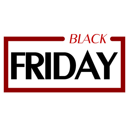 Abstract vector black friday sale layout background. 스톡 콘텐츠