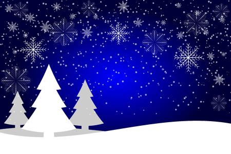 Winter Season design background 스톡 콘텐츠