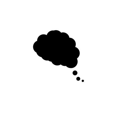 dream cloud icon in trendy flat design 일러스트
