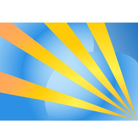 abstrakt: Abstrakt dark blue background with yellow beams