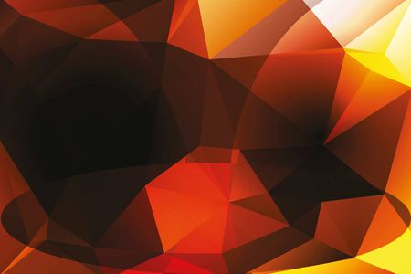 vertices: Illustration of blurred abstract polygonal background in dark colors Stock Photo
