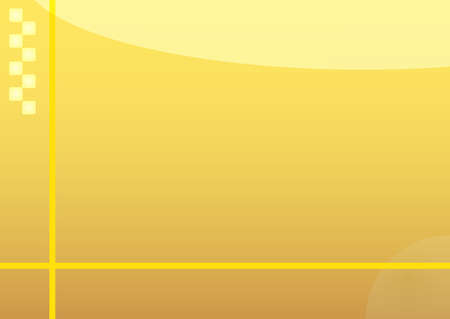 Illustration of yellow abstract background with yellow lines Illustration