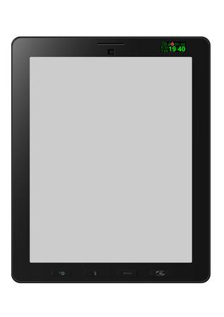 computador tablet: tablet computer Ilustração
