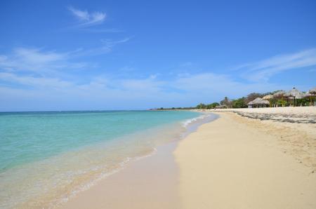 Ancón beach, near Trinidad, Cuba.