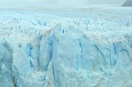View of the Perito Moreno Glacier Stock Photo