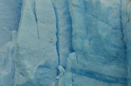 Detail of the Perito Moreno Glacier