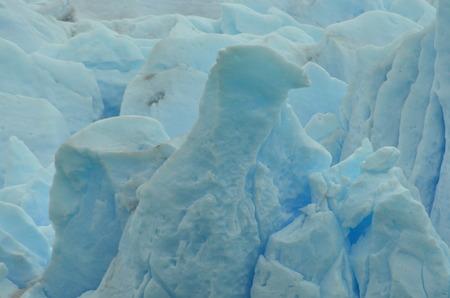 Detail of the Perito Moreno Glacier, shape of an eagle