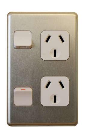 wall socket: Wall socket Australia  New Zealand - off