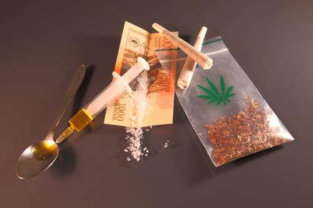 drogue: M�dicament ABC Banque d'images