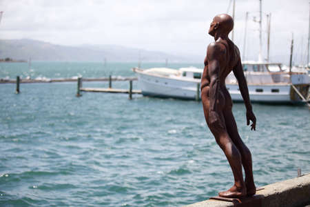 solace: Statue in Wellington, New Zealand