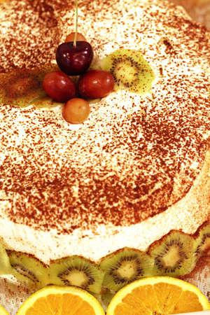 Kiwi cake photo
