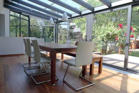 terrace: Conservatory