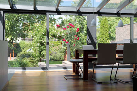 home office: Conservatory