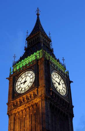 London Big Ben at night photo
