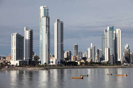 tall buildings: Skyline of Panama City