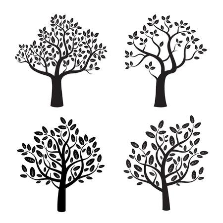 Set of black trees