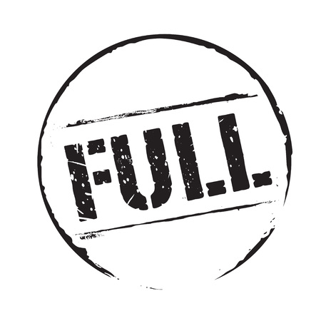 linkedin: Black grunge stamp and text FULL