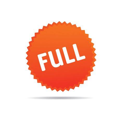 Orange Vector Icon FULL