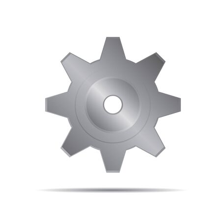 grey: Grey Illustration of Gear Illustration