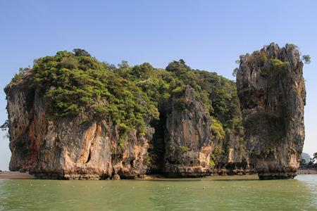 Phang Nga Park and James Bond Island in Thailand.