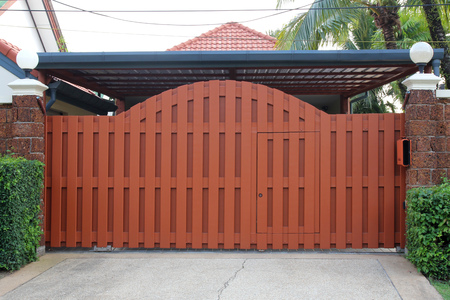 Wooden Gate for House and propertis.