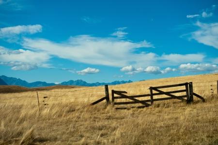 Gebroken poort in Mackenzie land, Nieuw-Zeeland