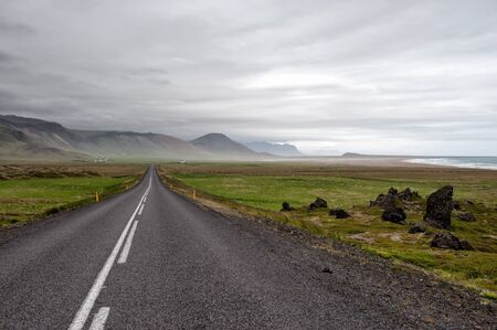 Road 54 on Snaefellsnes, Iceland photo