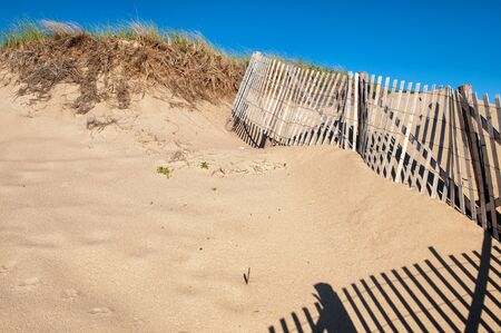 Sand dunes at Race Point Beach, Cape Cod, MA Stock Photo - 18655270