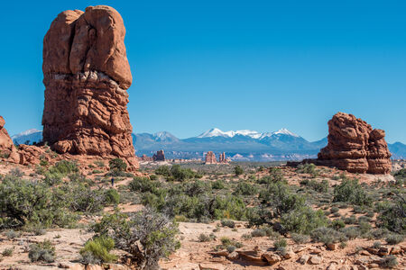 Arches National Park, Utah Stock fotó
