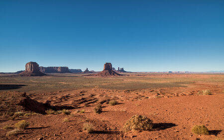 Scenic view at Artists Point in Monument Valley photo