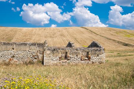 vicinity: Sicilian countryside in the vicinity of Corleone Stock Photo