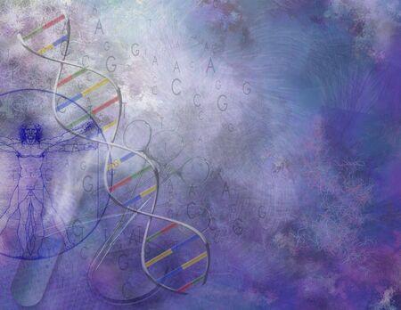 회화 적 과학과 DNA 구성