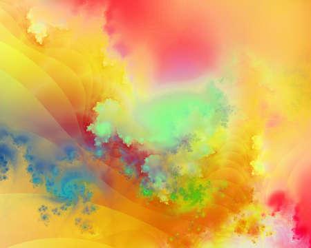 Colorful fractal