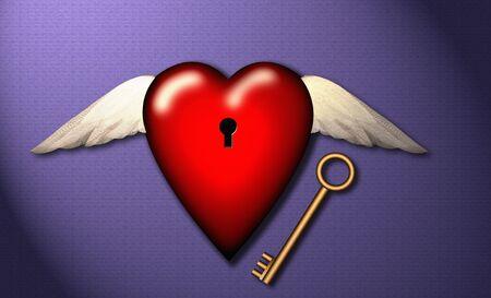 key to freedom: Love, freedom, Key to Heart