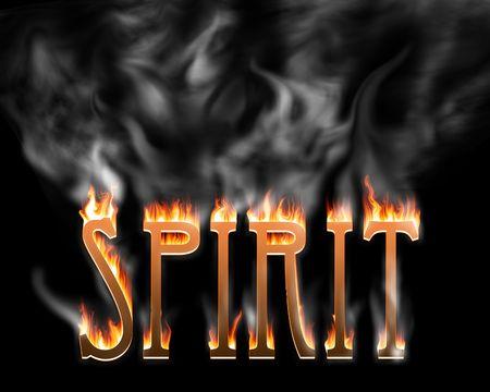 Burning Spirit Stock Photo - 544080