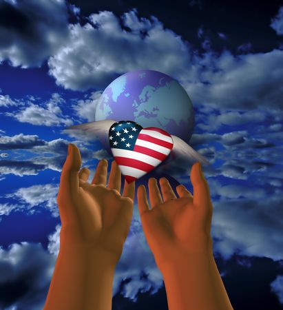 USA is released to the world photo