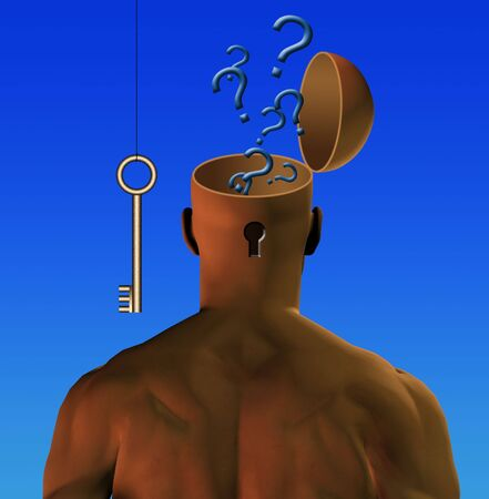unlocked: Question emerge from unlocked mind
