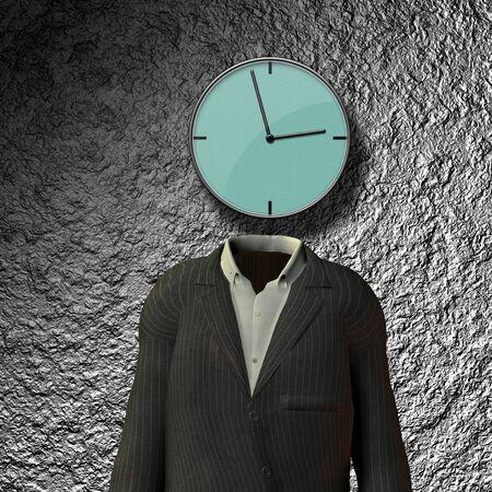 headed: Clock Headed