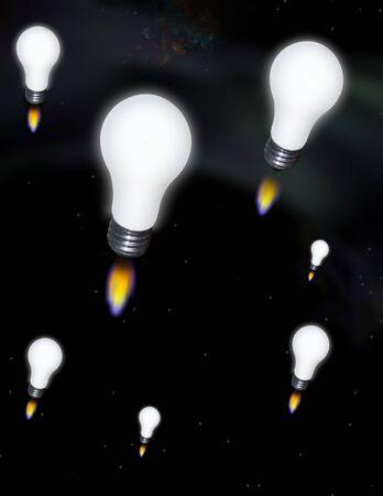that:   Idea rocket: Ideas that take off