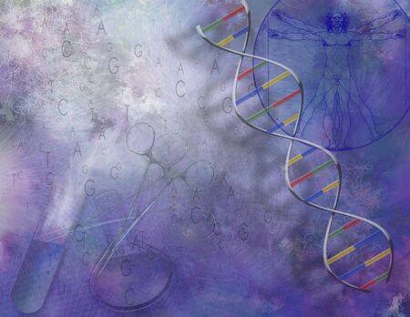 recombinant: Scienza di Painterly e composizione nel DNA