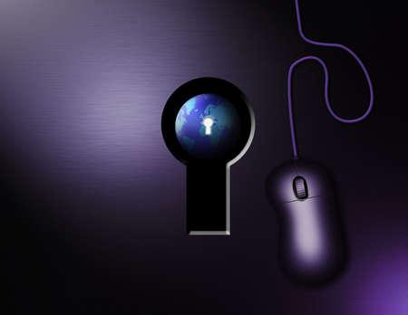Keys to the globe: Internet photo