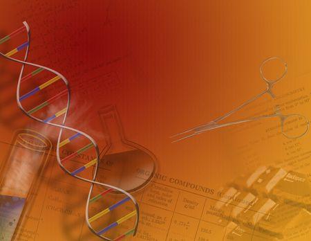 recombinant: Genetica e della scienza o caratteristiche chimica boccette, parte del DNA e di altri oggetti della scienza