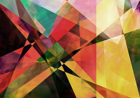 iteration:  Geometric paperlike background Stock Photo