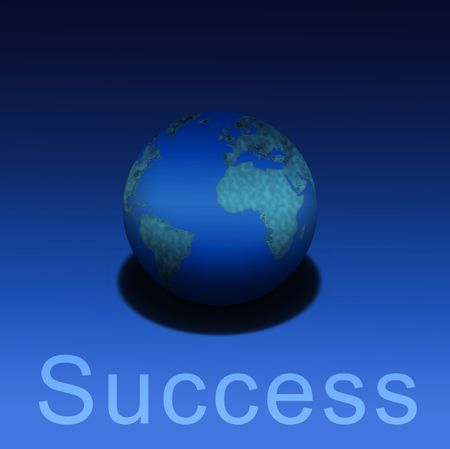 earthly: Earthly Success Stock Photo