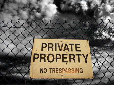 Private property Stock Photo - 842408