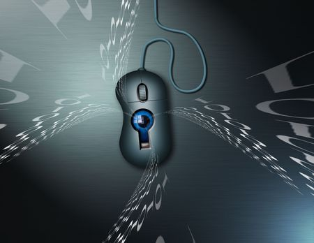 Internet security and surveilance Stock Photo - 851171