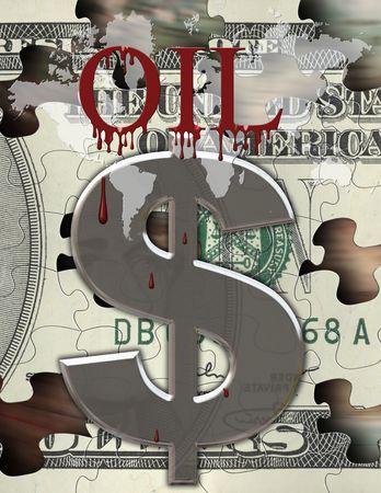 gouge: Blood for oil